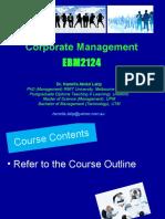 Corporate Management Week 1 Hamrila