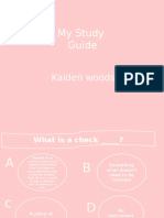 my study guide