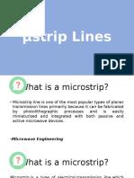 Μstrip Lines