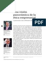 Una Visión Panorámica de La Ética Empresarial