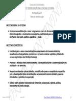 Plano Inicial Oficina Ecosol