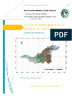 Cuenca Supe - Hidrologia
