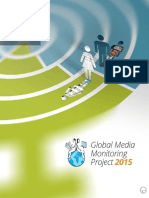 Who Makes the News - Global Media Monitoring Project 2015