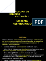 Histologia II Sistema Respiratorio