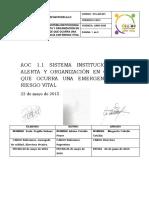 AOC 1.1 SISTEMA INSTITUCIONAL DE ALERTA Y ORGANIZACION EN CASO DE EMERGENCIA VITAL FINAL.pdf