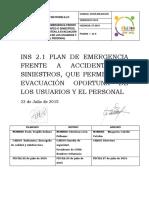 INS 2.1 Plan de Evacuaciòn CESFAM Rodelillo FINAL 2015