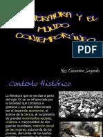 Literatura y Mundo Contemporáneo