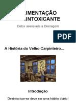 ALIMENTAÇÃO DESINTOXICANTE