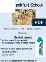 Frankfurt School Mass Culture _ 'Art' – High Culture Marxism-PPT-31