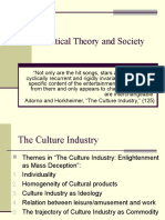 Critical Theory and Society-PPT-20
