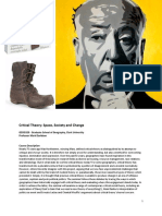 Critical Theory- Space, Society and Change -PPT-15