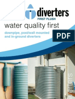 First Flush Water Diverters - Water Quality