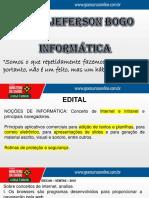 Informática - Jeferson Bogo