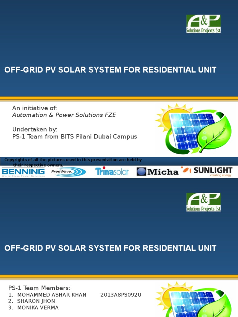 Off Grid Pv Solar System Photovoltaics Power Freewave Wiring Diagram