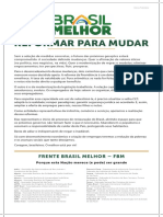 Manifesto Brasil Melhor