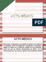 Acto Medico V