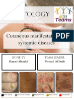 Cutaneous Manifestations of Systemic Diseases 1st