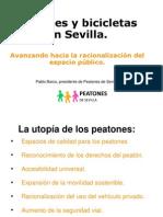 Peatones y Bicicletas en Sevilla