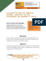 Historia Social de America Latina - Analisis de Las Dictaduras de Chile y Uruguay