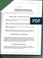 Planeacion y Organizacion de La Empresa