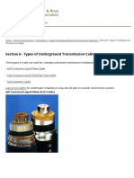CCBDA Section 6 - Types of Underground Transmission Cables