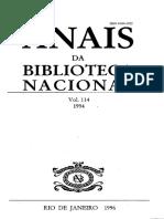 Anais da BN_v.114_1994