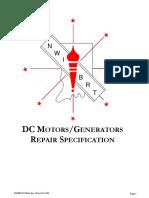 NWIBRT DC Motor Repair Spec Rev0200 2006-05-12