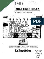 Artigas y El Federalismo en El Rio de La Plata. Volumen 1