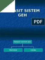 +parasit sistem GEH(cacing)