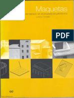 4. Maquetas, la representación del Espacio en el Proyecto Arquitectónico.pdf
