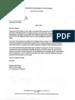 Dept. of Education Letter 040717