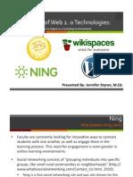 Application of Web 2.0 Handout