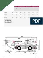 Fiche Technique Grue a Pneus Terex Ac40 2