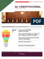 El Tribunal Constitucional (Final)
