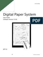 Digital Paper System User Guide