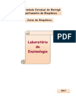 Apostila 2017 Versão Final Laboratório de Enzimologia