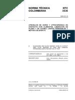 NTC-3536 Vidrio en contacto con alimentos.pdf