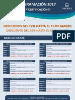 Calendario TI - Inicios 2017 - 12% de Descuento (1)