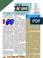 """07-18-2010 Boletín Semanal """"El Conquistador"""" una publicación de La Casa de Todos-Chimbote Perú"""