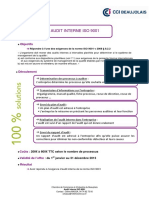 Q2 - Fiche Pr Sentation Audit Interne Qualit Iso 9001