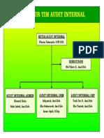 Struktur Tim Audit