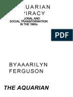 Marilyn Ferguson - The Aquarian Conspiracy, 1981, OCR