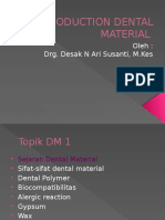 Introduction Dental Material