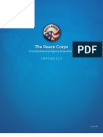 Peace Corps  Appendices | Comprehensive Agency Assessment | June 2010