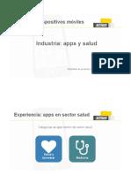 8.1. Apps en El Sector Salud - Presentación
