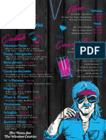 Machos Cantina Dallas Drinks Menu