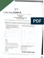 Physics 1 Mock Practice Exam