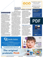 Pharmacy Daily for Tue 11 Apr 2017 - TGA launches codeine strategy, NSW Guild appointment, FDA ticks genetic test, Guild Update and much more