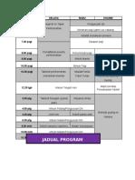 Jadual Program (1)