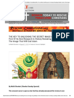 The KEY to UNLOCKING the SECRET IMAGE of GUADALUPE_ a First of Its Kind Research in History Revealing Hidden Code in the Image That Will End Islam _ Walid Shoebat